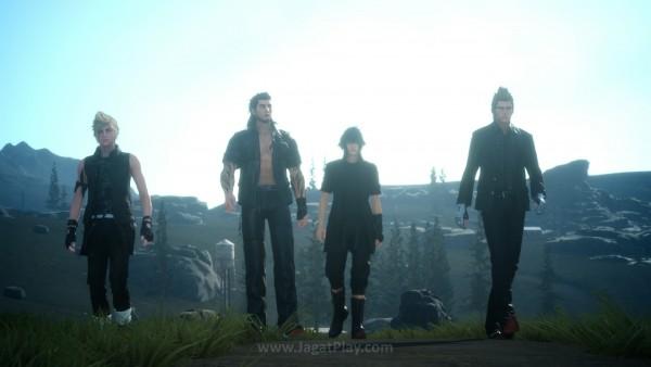 Final Fantasy XV demo - Ep. Duscae menjadi debut engine generasi terbaru Square Enix - Luminous Engine.