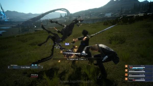 Square Enix tidak bekerja sendirian. Developer lain - HexaDrive juga membantu proses pengembangan Final Fantasy XV.