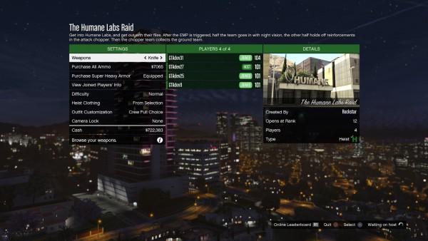 GTA Online Heists Mode (25)