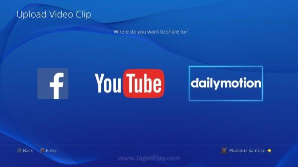 Anda kini bisa melakukan upload video gameplay Anda ke Dailymotion!