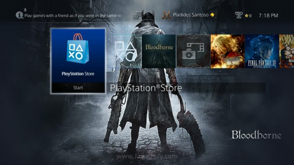 Playstation Store kini terpampang jelas di halaman depan!