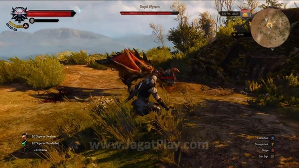 The Witcher 3 wild hunt 7 minutes gameplay (25)