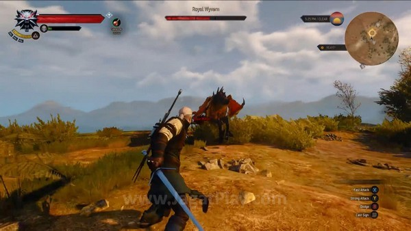 The Witcher 3 wild hunt 7 minutes gameplay (27)