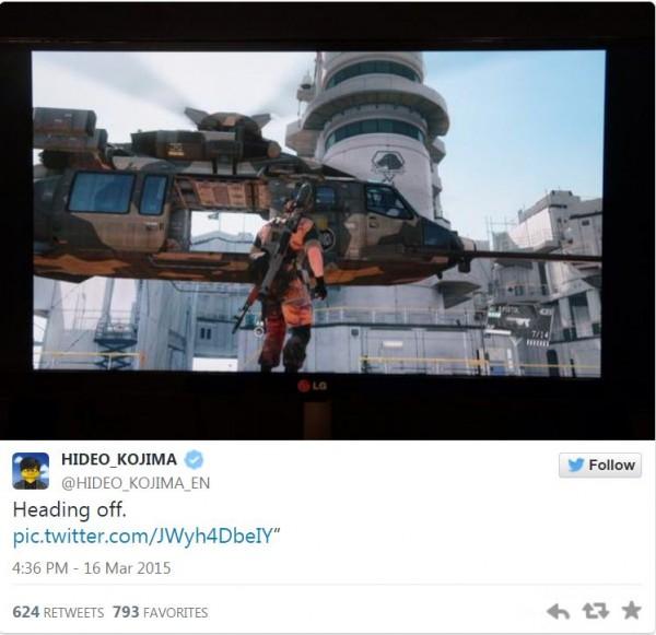 Tweet resmi Kojima kian memperkuat kecurigaan tersebut.