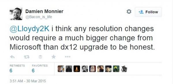 CD Projekt  mengakui bahwa DX12 tidak akan membantu banyak untuk meningkatkan resolusi The Witcher 3 di Xbox One.