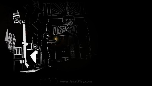 Lihat siluet putih dalam kegelapan? Lari!