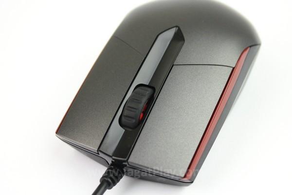 Tombol mouse sengaja dipisahkan dari badan demi meningkatkan respons klik mouse