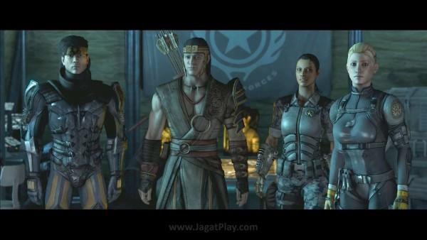 20 tahun setelah event dikurungnya Shinnok, Earthrealm menyerahkan tanggung jawab eksistensinya pada generasi pertarung yang baru - Takeda, Kung Jin, Jacqui, dan Cassie Cage.