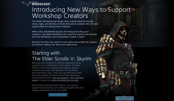 Valve memperkenalkan sistem mod berbayar untuk Skyrim beberapa hari yang lalu.  Namun, alih-alih positif, gamer justru bereaksi sangat negatif pada sistem baru Steam ini.