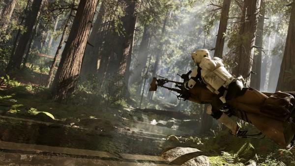 DICE mengklaim bahwa visual ini berasal dari in-game, dan bukannya CGI.