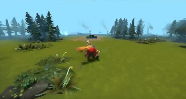 Seperti pendekatan yang dilakukan SMITE, mod ini memungkinkan Anda memainkan DOTA 2 dari perspektif orang ketiga.