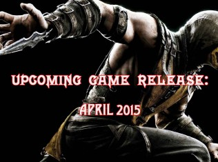 upcoming game release april