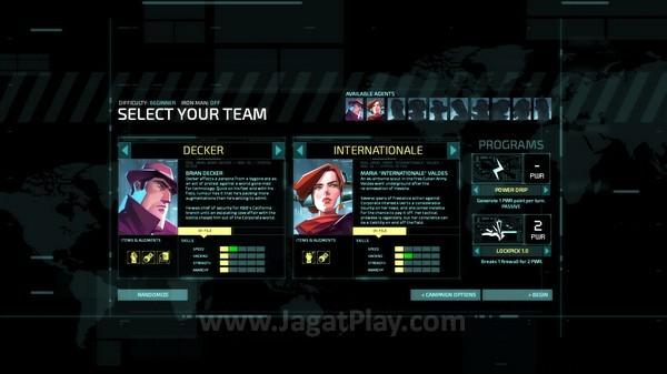 Tentukan tim yang akan bertempur melawan Corporation dari balik bayangan