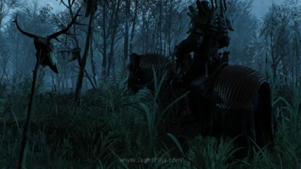Sumber ancaman tersebut muncul dari pasukan dengan armor berwarna hitam - Wild Hunt yang terus memburu Ciri. Kedatangan mereka selalu hadir dengan aura es yang membekukan semua makhluk hidup di sekitar mereka.