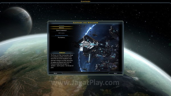 Mode Campaign membawa Anda ke dalam cerita utama Galactic Civilizations III