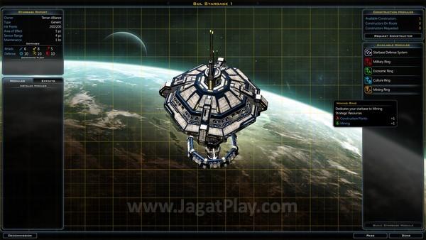 Stasiun antariksa dapat dilengkapi dengan beragam modul, tergantung kemauan Anda