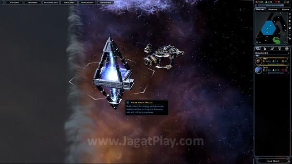 Relik spesial dari Precursor harus digarap oleh stasiun dan memberikan bonus besar untuk Anda