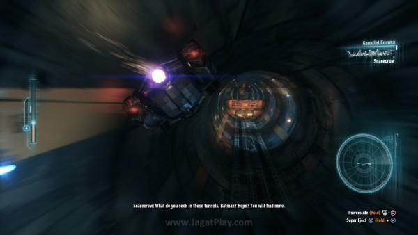 Ada banyak varian puzzle dan quest baru yang didesain dengan Batmobile sebagai fokus.