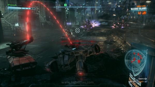 Bergerak lebih leluasa, ia menjadi satu-satunya kunci untuk menghancurkan pasukan masif Arkham Knight.