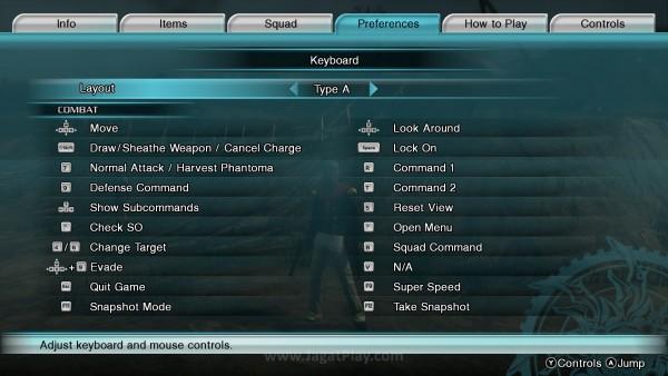 Konfigurasi yang jelas, akan terasa lebih nyaman untuk dimainkan dengan kontroler dan bukan keyboard.