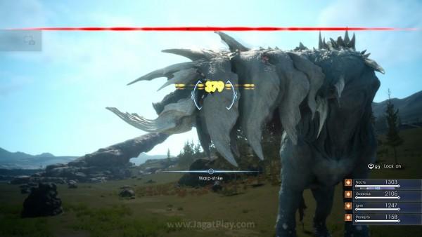 Catoblepas secara resmi menggantikan posisi Behemoth sebagai monster terkuat di Ep. Duscae.