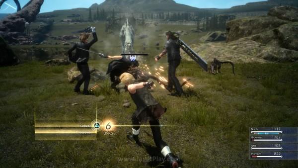 Secara sederhana, ia bisa disimpulkan sebagai serangan kombinasi dengan damage besar dimana empat karakter terlibat secara langsung.