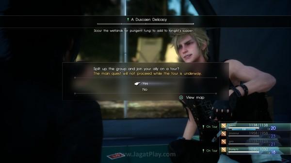 Mereka kini bisa memberikan side-quest yang bisa diselesaikan bersama.