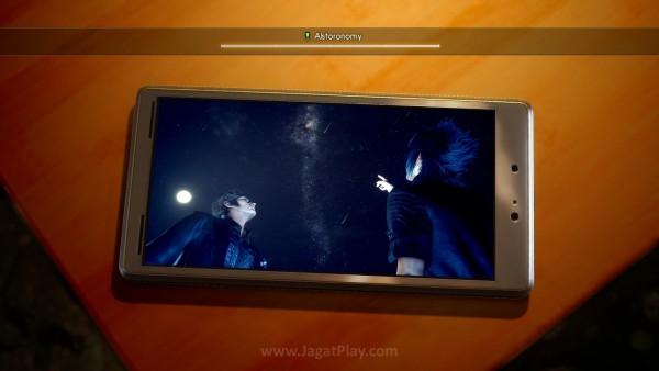 Di luar experience points, memento di perangkat mobile milik Noctis juga jadi reward untuk setiap quest yang berhasil Anda selesaikan.