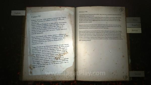 Cerita dibawakan dalam beragam catatan yang ditemukan