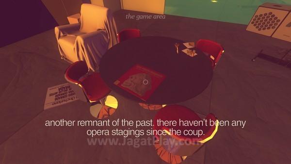Narasi dalam game dapat berubah, tergantung opsi yang Anda pilih
