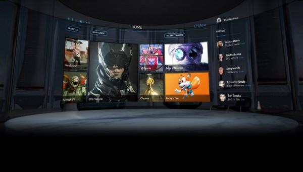 Oculus Home - sebuah portal distribusi digital untuk game-game VR. Belum jelas apakah ia hanya akan memuat game yang eksklusif hanya untuk Rift, atau juga bisa digunakan untuk produk VR lain seperti HTC Vive, misalnya.