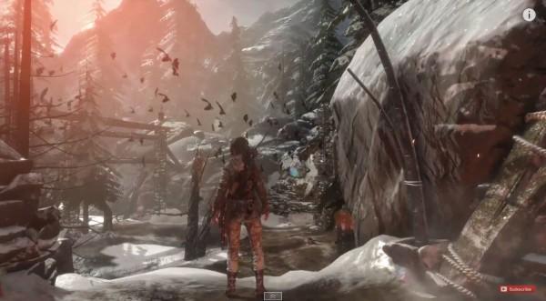 Crystal Dynamics ternyata masih menyimpan sesi demo gameplay lebih panjang, setelah event E3 2015 kemarin - setelah Lara berhasil selamat dari terjangan longsor yang masif.