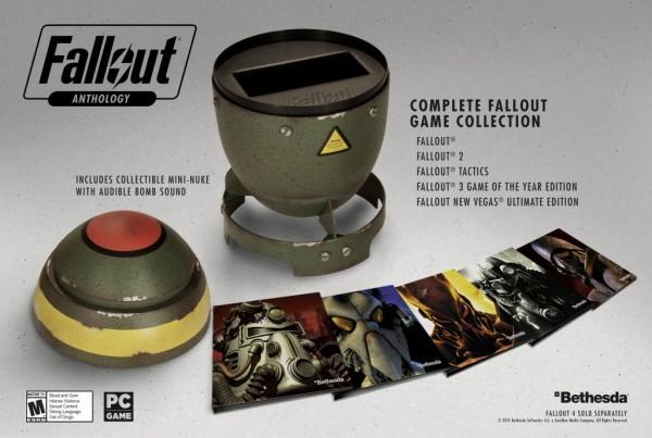Bethesda memperkenalkan kompilasi dalam kemasan keren - Fallout Anthology.