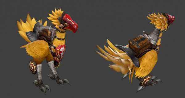 Courier : Chocobo