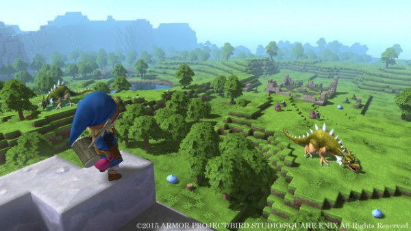 Dragon Quest terbaru - Builders mengusung visual dan gameplay ala Minecraft.