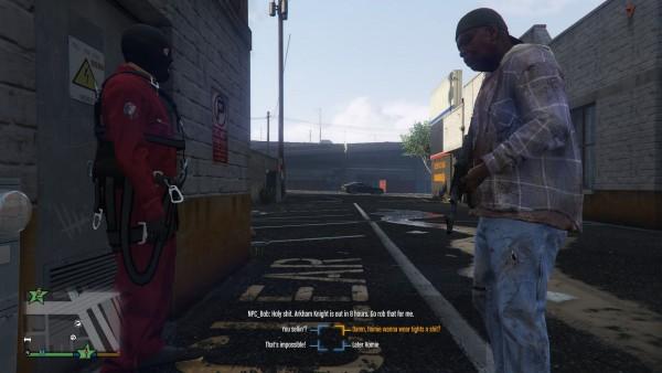 Seorang modder bernama LogicSpawn berusaha mengubah GTA V menjadi game RPG.