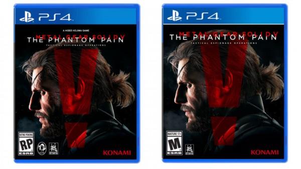 Cover rilis Metal Gear Solid V: The Phantom Pain akan membuang jejak Kojima, dari logo hingga nama.