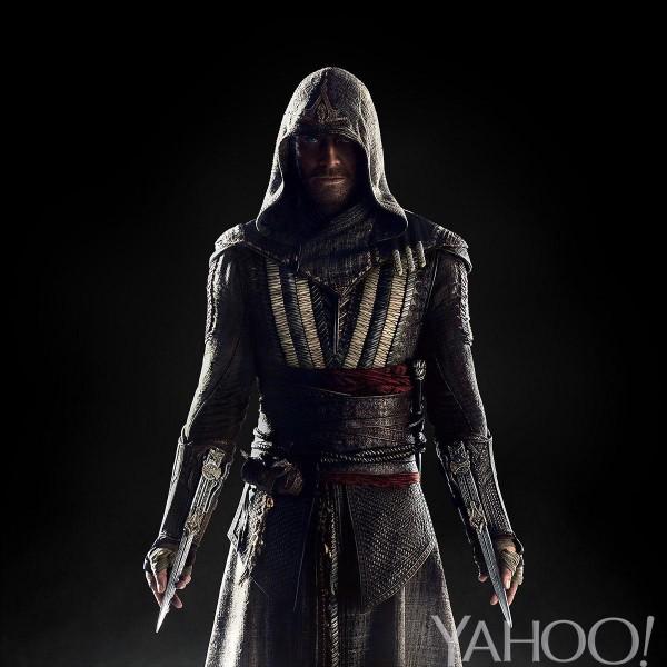 Inilah tampilan Michael Fassbender yang akan memerankan Callum Flynch - karakter utama film Assassin's Creed yang akan dirilis tahun depan. Cocok?