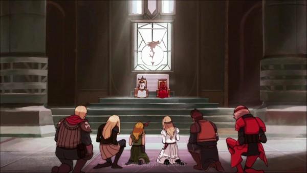Anda akan berperan sebagai satu dari enam karakter utama yang berusaha mendapatkan gelar Ksatria mereka.