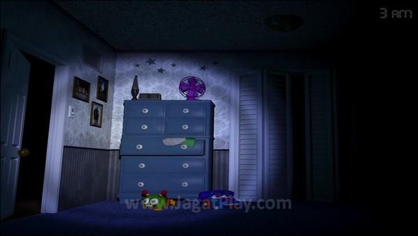 Ruang permainan hanya terbatas pada kamar tidur saja...