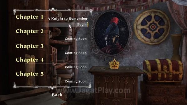 Cerita dalam King's Quest dibagi menjadi beberapa episode yang perlu Anda beli