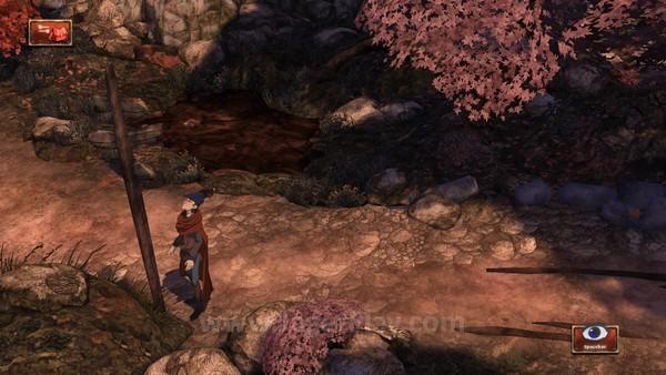 Lingkungan permainan menyembunyikan petunjuk dan elemen penting dalam game