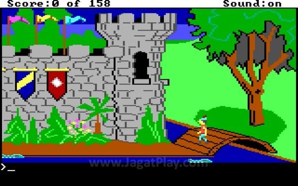 Dari grafis 2D seperti ini di tahun 1983...
