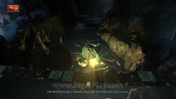 Quest Anda? Mengambil cermin ajaib yang dirangkul oleh naga di bawah!