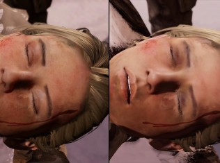 Uncharted Remastered PS4 vs PS3 13