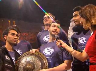 eg win the international 2015