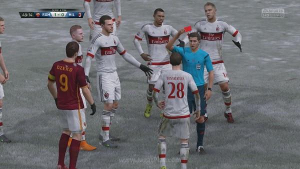 FIFA 16 Kick Off 1-0 ROM V MIL, 2nd Half