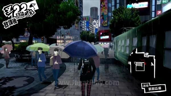 Persona 5 TGS 2015 PV (7)