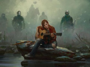 ellie playing guitar