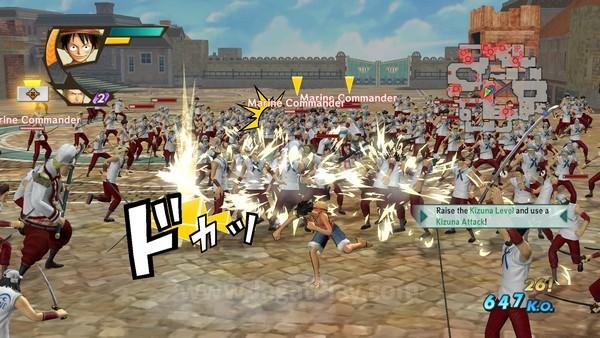 Tidak ada yang namanya satu lawan satu ketika melawan Luffy